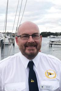 Commodore Ian Harwood